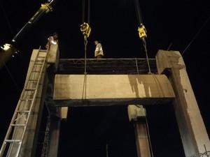 安达市火车站跨线天桥